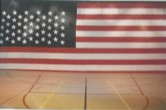 Doek 21 - USA vlag